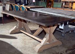 steel top dining table articles with galvanized steel top dining table tag galvanized