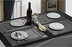 dining room placemats sicohome placemats pvc dining room placemats for table heat