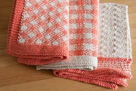 pink retro kitchen collection retro kitchen knits collection from knitpicks knitting by
