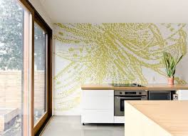 contemporary kitchen wallpaper ideas top 20 creative wallpapers ideas for the kitchen eatwell101