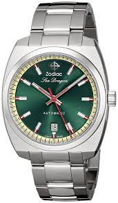 amazon com zodiac heritage men u0027s zo9901 sea dragon stainless
