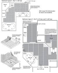 suntouch mats specifications and installation procedure
