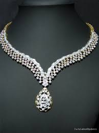 diamond sets design diamond necklace designs stylespoint