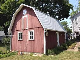 Hip Roof Barn Plans Gambrel Barn Plans Ford F150 Short Bed