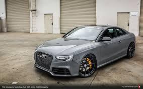 nardo grey rs3 nardo gray audi rs 5 by tag motorsports and hre wheels my dream