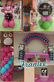 owl themed baby shower ideas 17 best baby shower balloon decor images on balloon