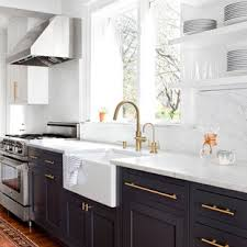 pictures of white kitchen cabinets with black stainless appliances 75 beautiful transitional kitchen with black cabinets