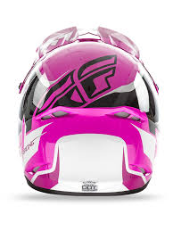 childs motocross helmet fly racing pink black white 2016 kinetic fullspeed kids mx helmet