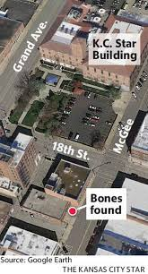 Kansas City Crime Map Bones Found Downtown Kc Were Human The Kansas City Star