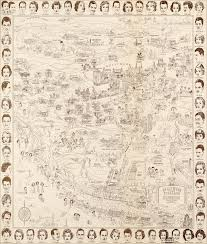 Map To Work Hollywood Star Map U2013 Golden Age Celebrities 1937
