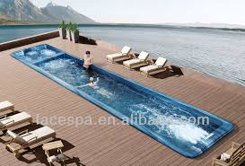 prefabricated pools prefabricated pools above ground swim spa fs s12 for resistance