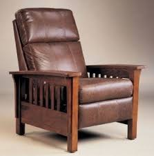 Wooden Recliner Chair Mission Style Recliners Foter