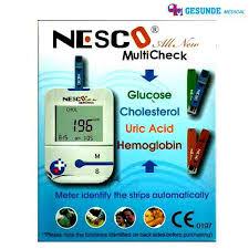 jual alat tes darah multicheck 4 in 1 murah