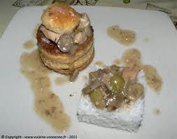 cuisiner le veau marmiton vol au vent de veau sauce financière une cuisine pour voozenoo