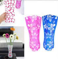 Cheap Plastic Flower Vases Wholesale Plastic Foldable Flower Vase Buy Cheap Plastic