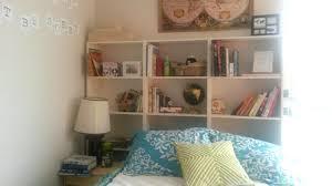 Oak Bookcase Headboard Bookcase Headboard King Oak Twin Xl Shelving Diy Coccinelleshow Com