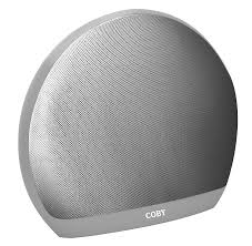 amazon com coby portable bluetooth speaker white home audio