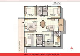 varapradha real estates ncc urban one floor plan ncc urban one