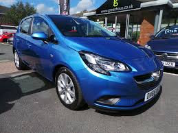 used vauxhall corsa energy blue cars for sale motors co uk