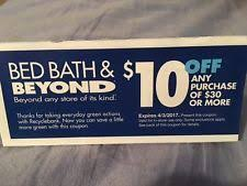 Bed Barh And Beyond Coupons Bed Bath U0026 Beyond Coupons Ebay