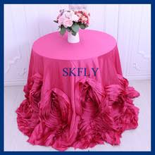 pink rosette table runner buy rosette table cloth and get free shipping on aliexpress com