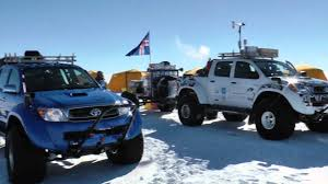 toyota europe jet fuelled toyota hilux conquers the antarctic video highlights