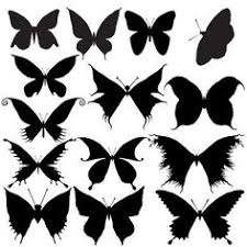 butterfly silhouette ella oh how i wish tattoos