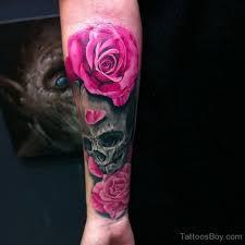 34 awesome wrist flower tattoos