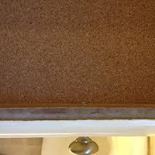 cork shelf liner a clean sustainable touch for cabinets