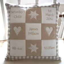 Customized Cushion Covers Personalised Natural Memory Cushion Natural Patchwork And Pillows