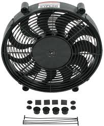 5000 cfm radiator fan derale 17 high output electric single radiator fan 2 400 cfm