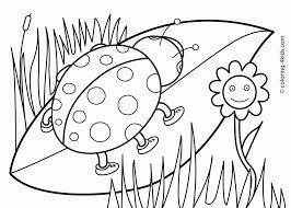 free coloring pages flowers kids kids coloring