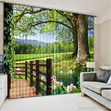 new custom 3d beautiful balcony 3d curtain fashion decor home new custom 3d beautiful balcony 3d curtain fashion decor home decoration for bedroom online with 333 34 piece on catherine198809100 s store dhgate com