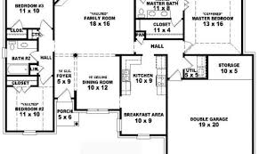 simple 1 story house plans cool 1 story 4 bedroom house plans images best inspiration home