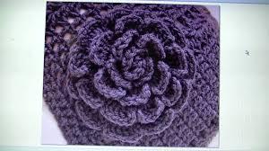 Free Pattern For Crochet Flower - easy crochet rose free written pattern youtube