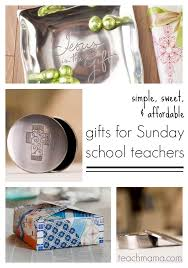 gifts for sunday teachers or ccd teachers teach mama