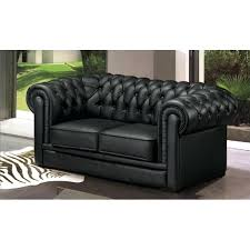 canap chesterfield cuir salon chesterfield cuir canapac 2 places chesterfield cuir noir