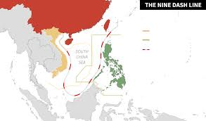 South China Sea On Map by High Stakes On The High Seas Philippines V China At The Hague