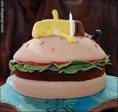 spongebob squarepants u0026 krabby patty cake u2013 moxie blue creative