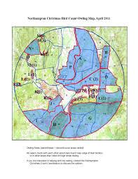 Map Of Northampton Ma Cbc Forms Leaders Maps And History U2013 Hampshire Bird Club