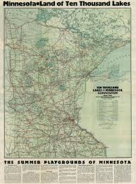 Lake Maps Mn Early Resorts Of Minnesota Maps Ren Holland U0027s Website