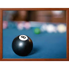 pool table wall art eight ball on pool table framed photographic print wall art