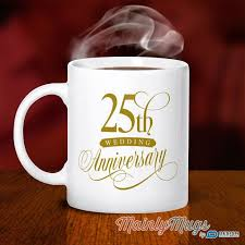 25 year anniversary ideas 21 best anniversary gift ideas images on coffee mug