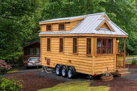 lincoln tiny house at mt hood tiny house village