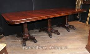 antique mahogany pedestal table regency dining tables mahogany walnut pedestal tables