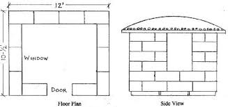 Straw Bale Floor Plans Free Straw Bale Emergency Shelter Plans
