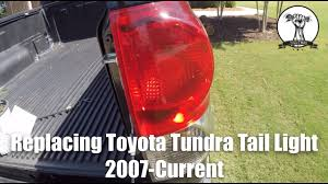 2010 toyota tundra tail light bulb replacement toyota tundra tail light replacement 2007 current youtube