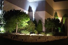 multi color led landscape lighting with colored outdoor