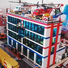 Lego Headquarters Cantiere Chiuso Lego Legocity Fire Rescue Headquarters Police