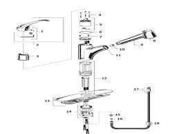 moen kitchen faucet diagram moen kitchen faucet repair leaking kitchen faucet on kitchen